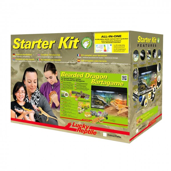 "Lucky Reptile Starter Kit ""Bartagame"""