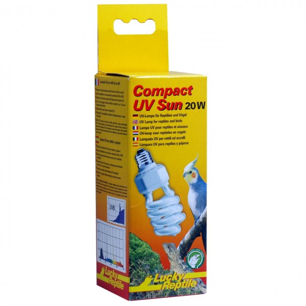 "Lucky Reptile Compact UV Sun ""UV Lampe"""