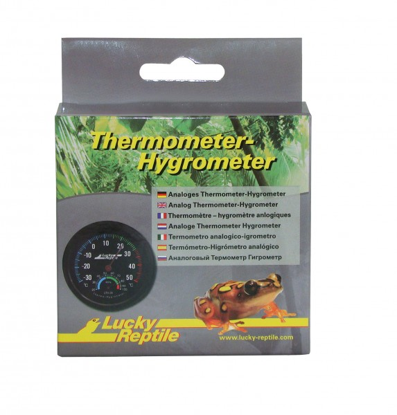 Lucky Reptile Thermometer und Hygrometer