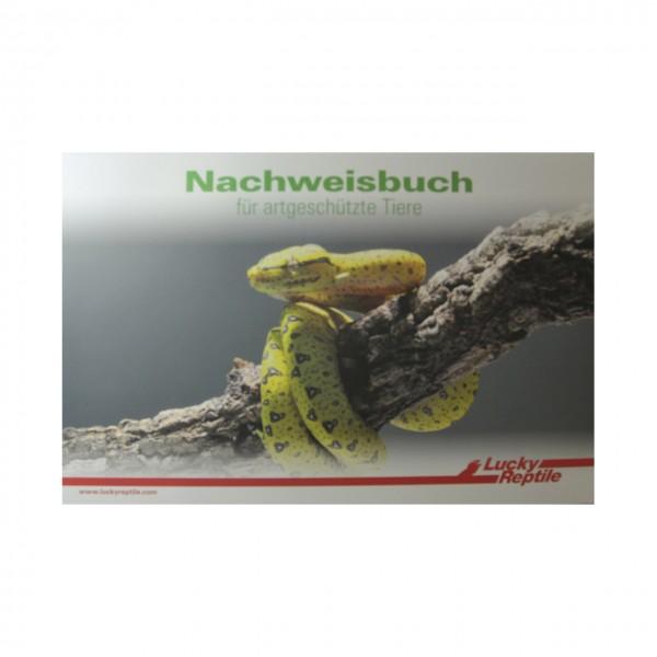 Lucky Reptile Nachweisbuch